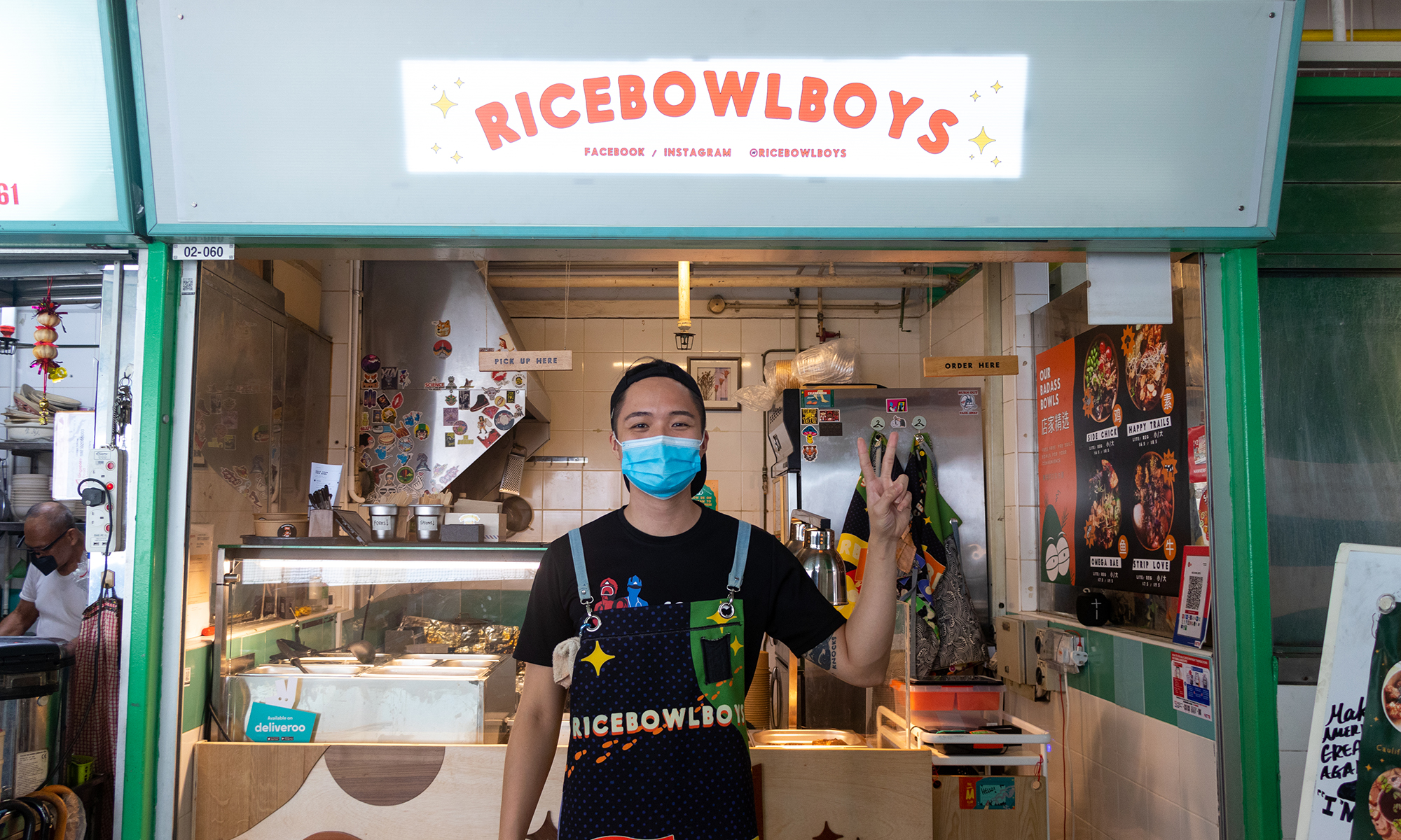 Healthy and shiok grain bowls from Rice Bowl Boys