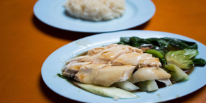 Ah Tai's Chicken Rice from Maxwell Hawker Centre