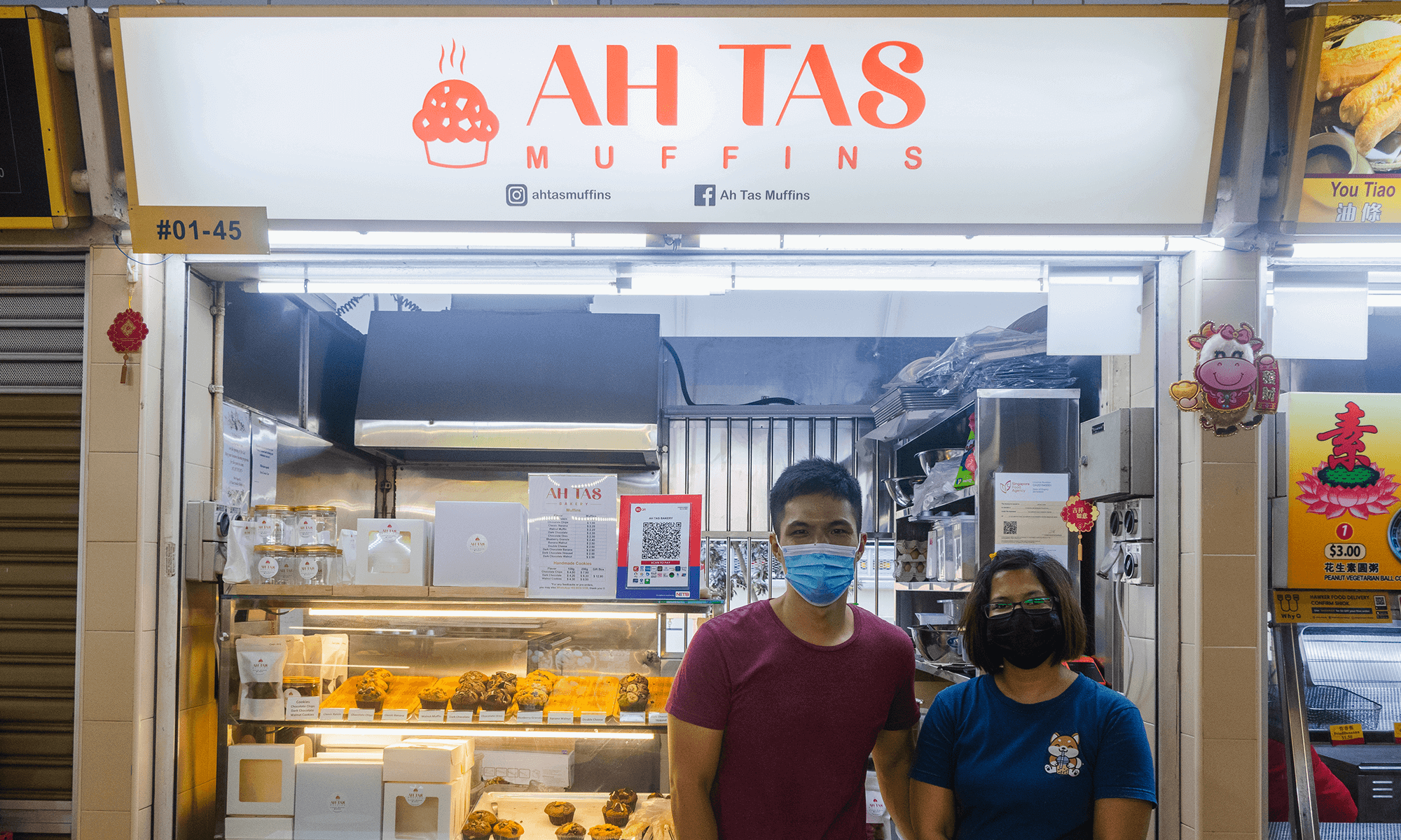 Ah Tas Muffins Hawkers of Singapore WhyQ Delivery