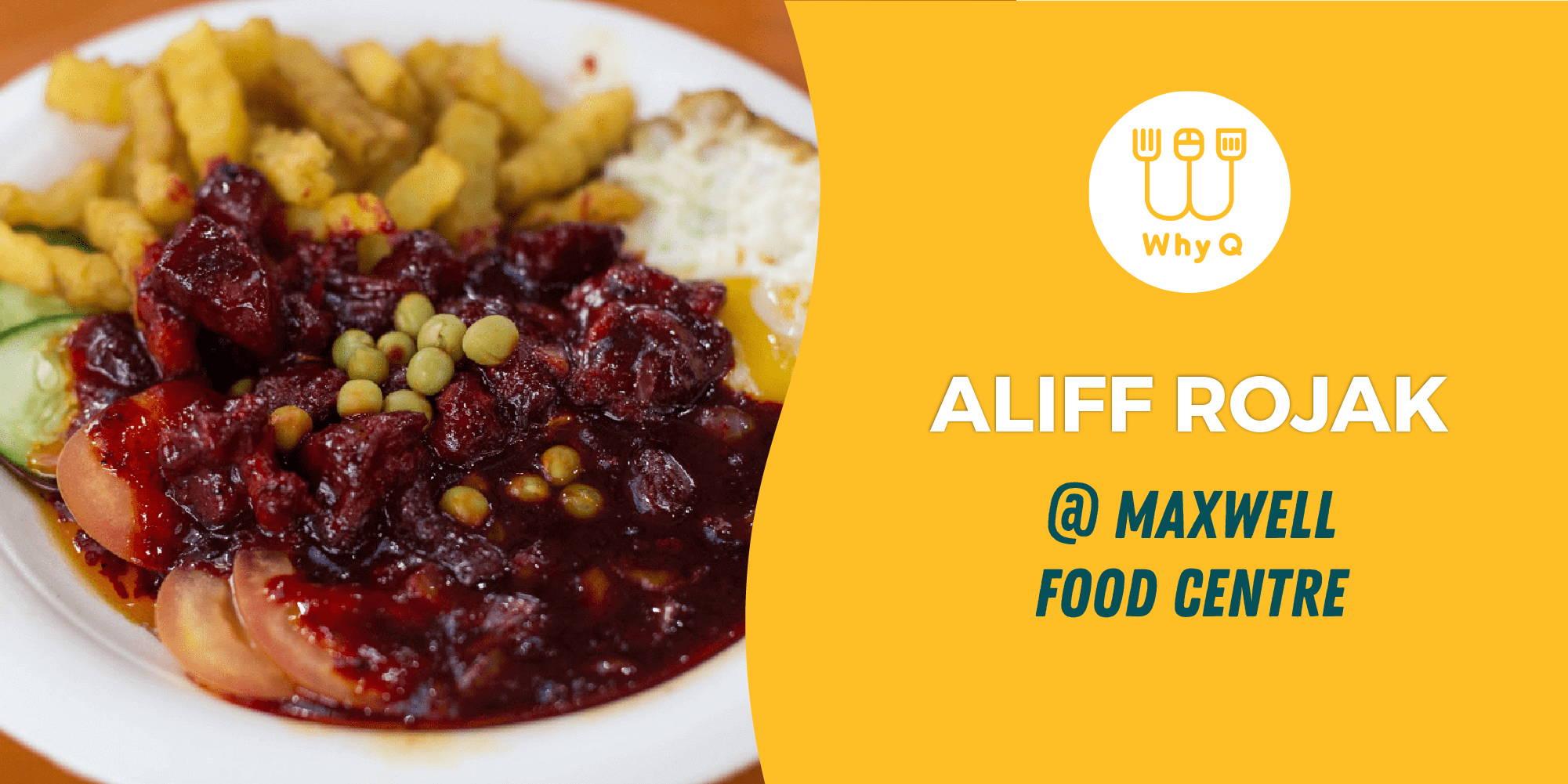 WhyQ halal guide Aliff Rojak delivery