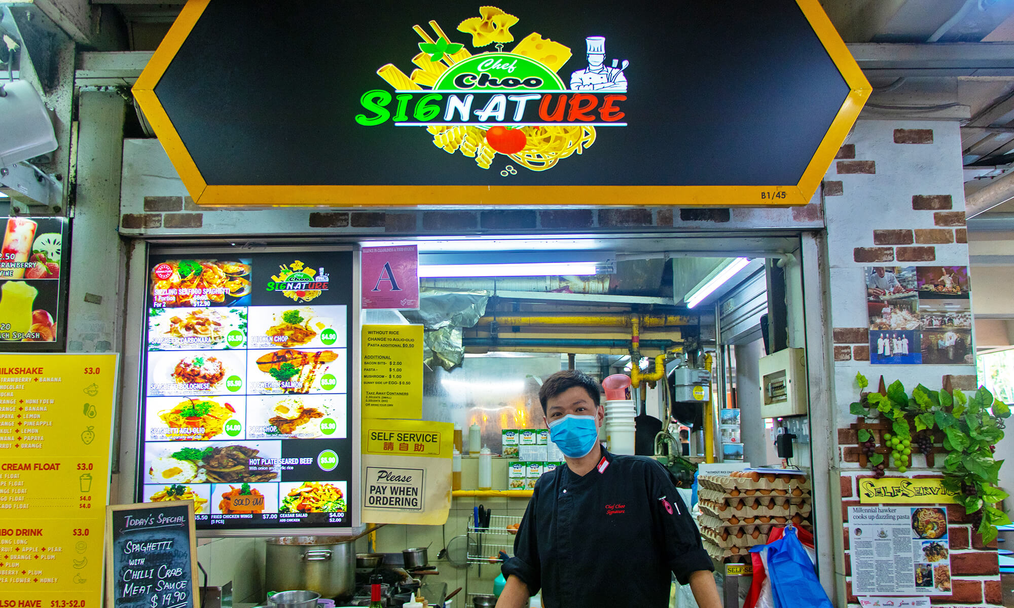 Owner of Chef Choo at Golden Mile, WhyQ Hawker interviews